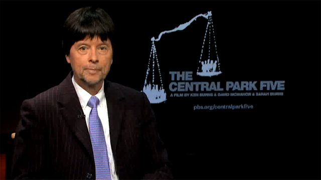 Join Ken Burns for a discussion about The Central Park Five""