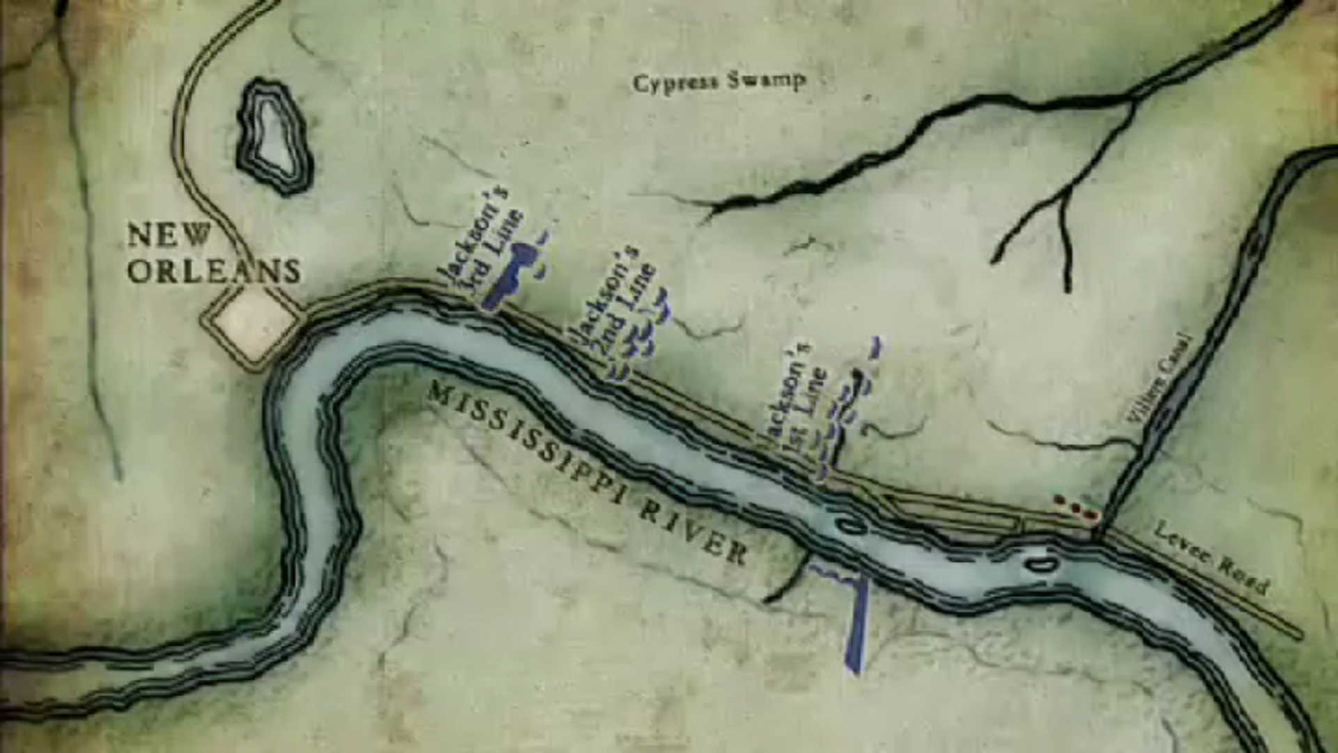 Winter 1814 New Orleans