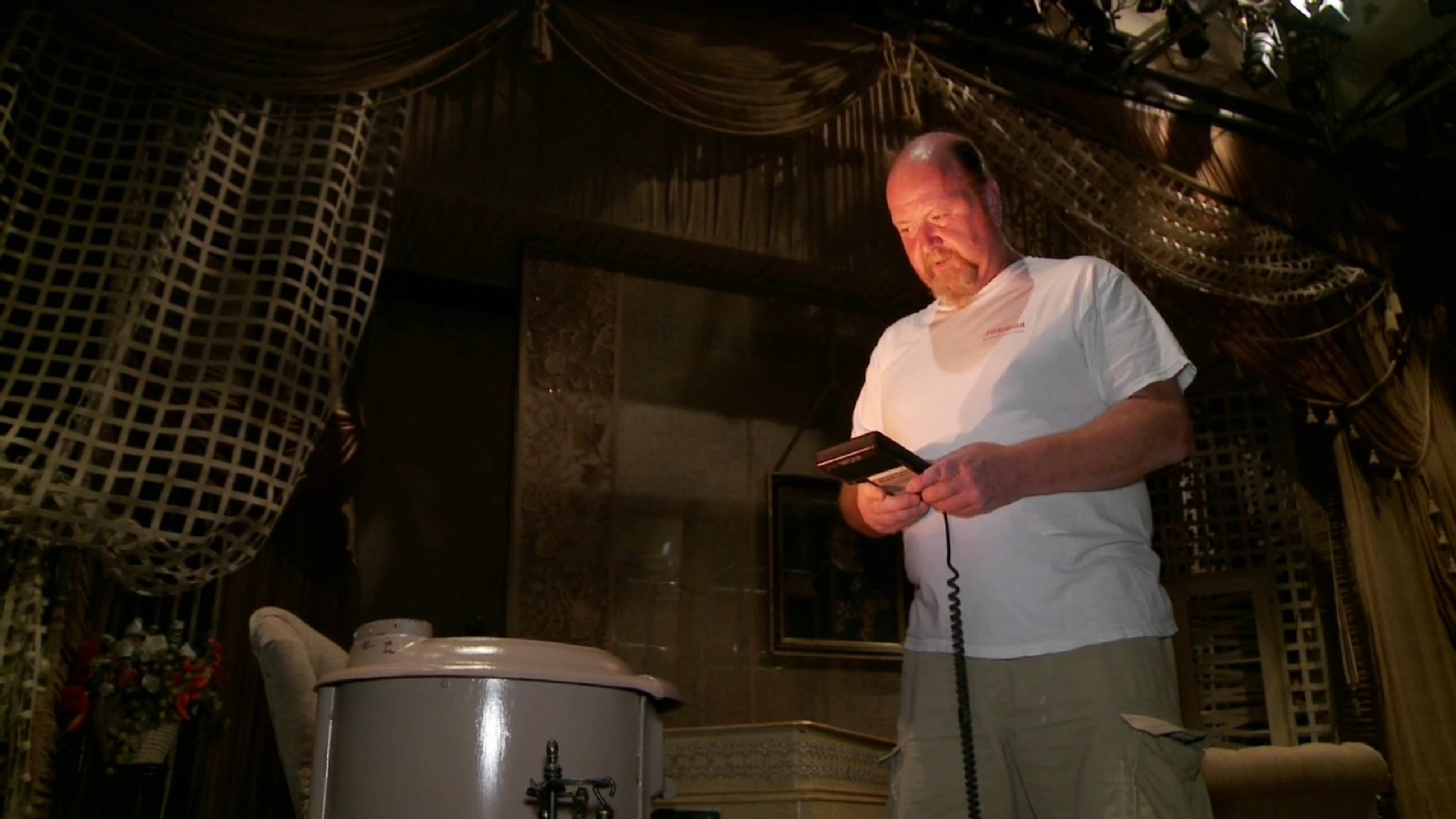 Lighting Hedda Gabler and the Fire in the Stove