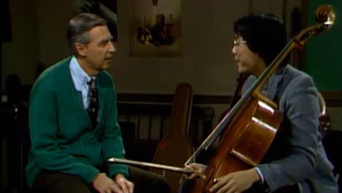 Yo-Yo Ma Visits Mister Rogers