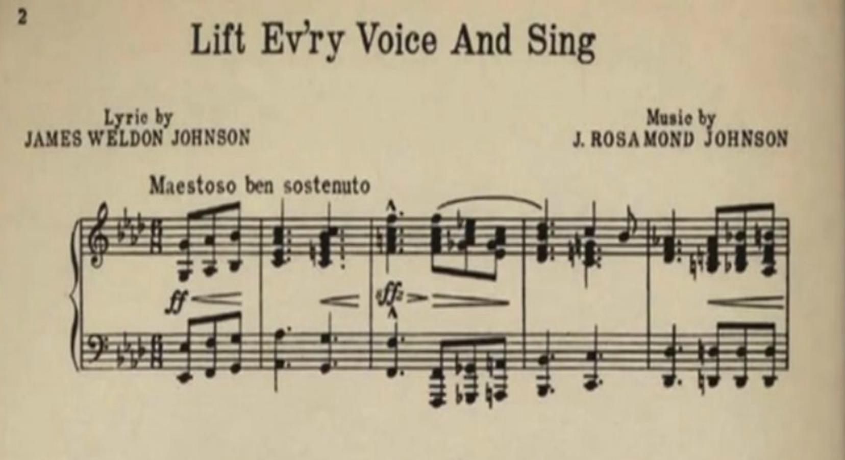 Lift Every Voice and Sing | The Poem and Song | Black History | PBS