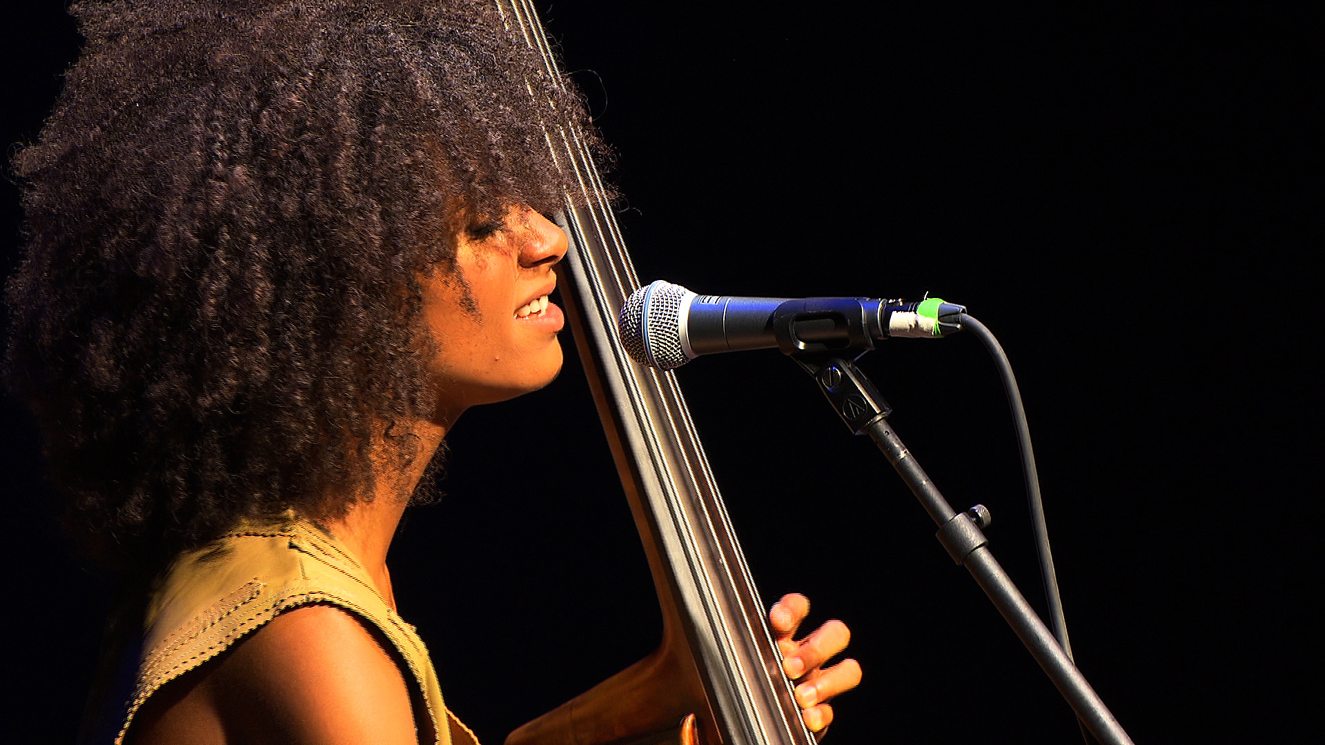 "Watch Esperanza Spalding Sing ""City of Roses"""