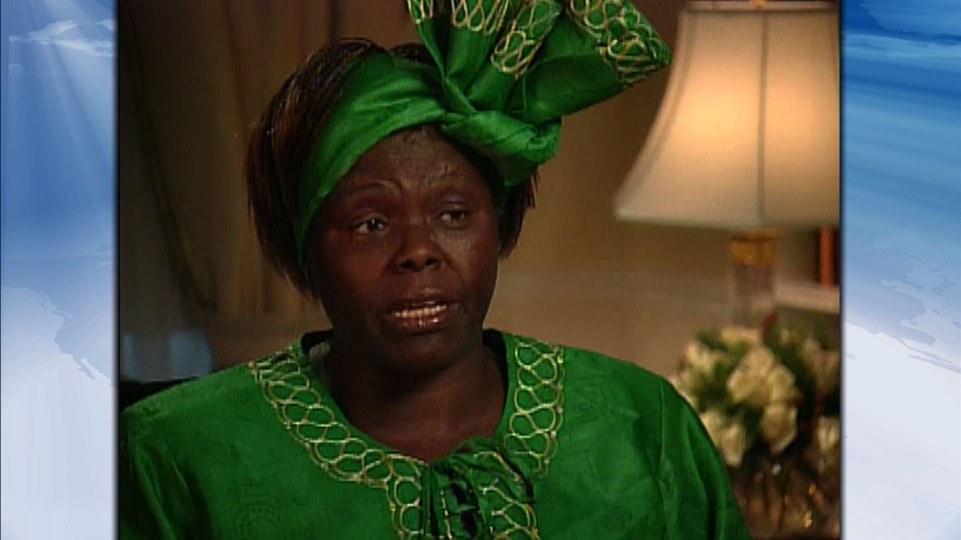 The First African Woman to Win the Nobel Peace Prize